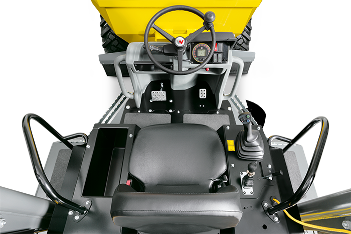 wheel dumper DW60 cockpit