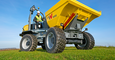 wheel dumper DW60 in action
